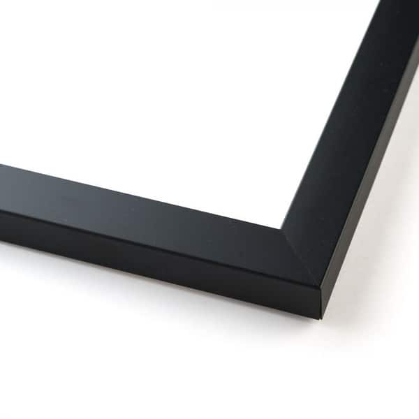 10x40 Black Wood Picture Frame