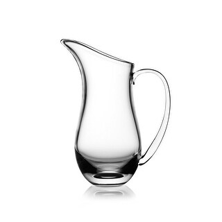 Nambe Moderne Glass Pitcher