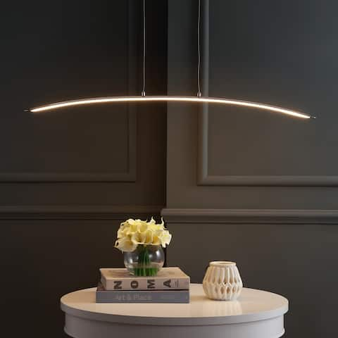 """Roxanna 42"""" Dimmable Adjustable Integrated LED Metal by JONATHAN Y"""