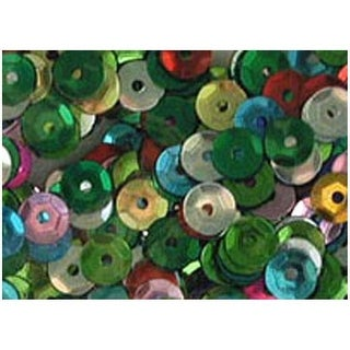 PA Ess Cupped Sequins 8mm 200pc Multi