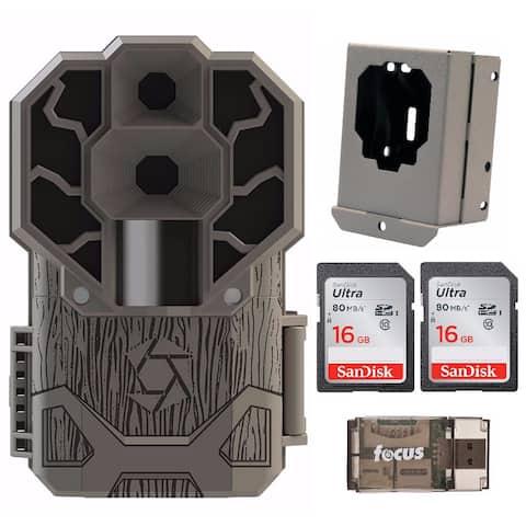 Stealth Cam Dual Sensor 4K 30MP Trail Camera with Security Box Bundle