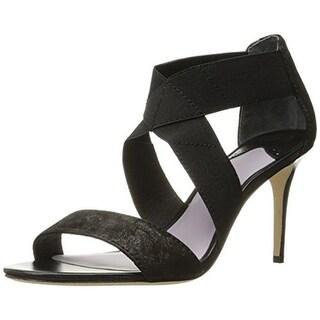 Johnston & Murphy Womens Felicity Dress Sandals Metallic