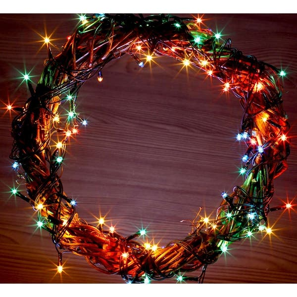 Shop Solar Powered 225 Led Outdoor String Lights White Or
