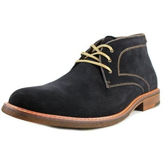 Bass Hurley Round Toe Suede Chukka Boot