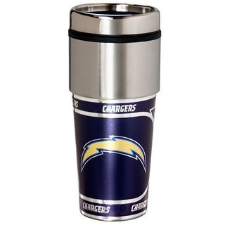 Great American Products San Diego Chargers Travel Tumbler Stainless Steel 16 oz. Travel Tumbler