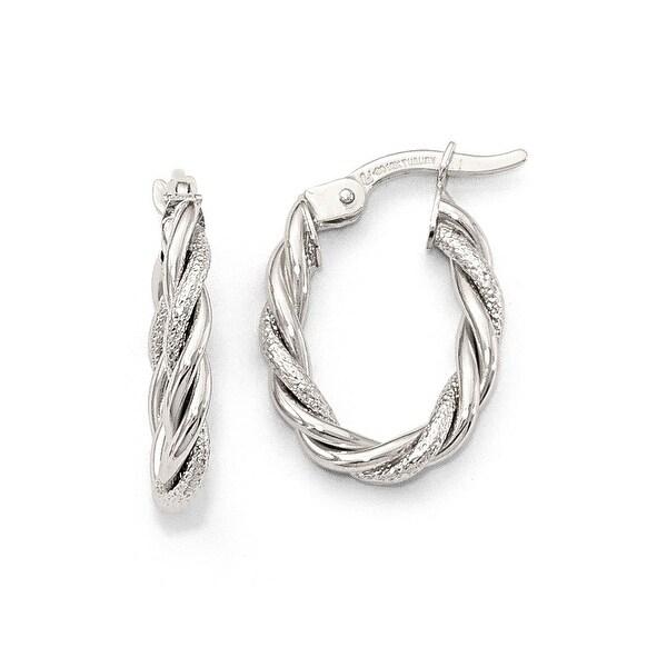 10k White Gold Earrings
