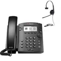 Polycom 2200-46161-025 6-line Entry-Level Business Media Phone with Gigabit Ethernet