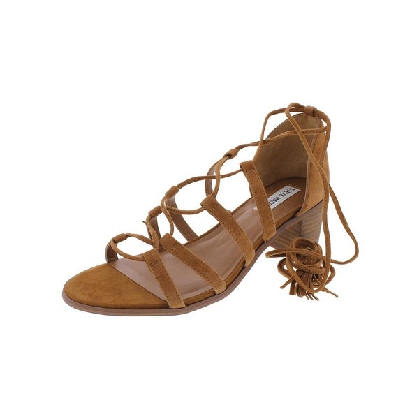 Steve Madden Womens Rosel Dress Sandals Open Toe Ghillie