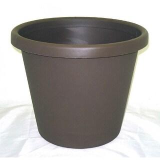 Akro-mils Classic Flower Pot Brown 12 Inch - 12014CHOC
