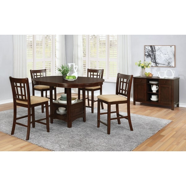 Copper Grove Noord Transitional 5-piece Counter-height Dining Set. Opens flyout.