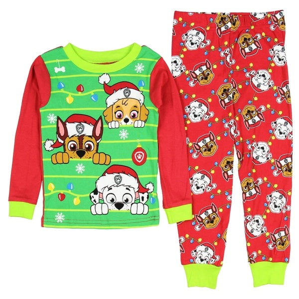 Shop Paw Patrol Christmas Holiday Toddler Unisex Pajamas Sleepwear - Free  Shipping On Orders Over  45 - Overstock - 19212618 675d2b1be