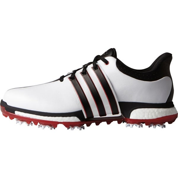 the best attitude 58890 5457c Adidas Menx27s Tour 360 Boost WhiteBlackPower Red Golf