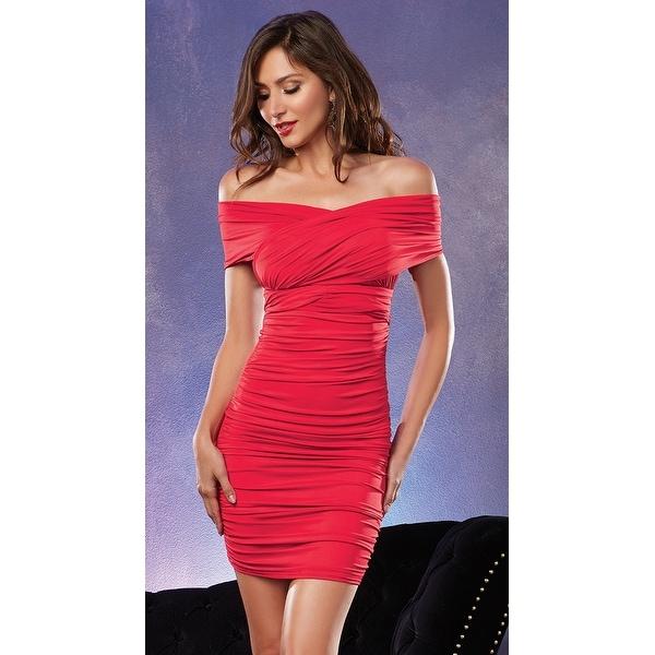Ruched Club Dress