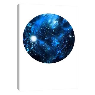 "PTM Images 9-105931  PTM Canvas Collection 10"" x 8"" - ""Interstellar Sphere 2"" Giclee Celestial Art Print on Canvas"