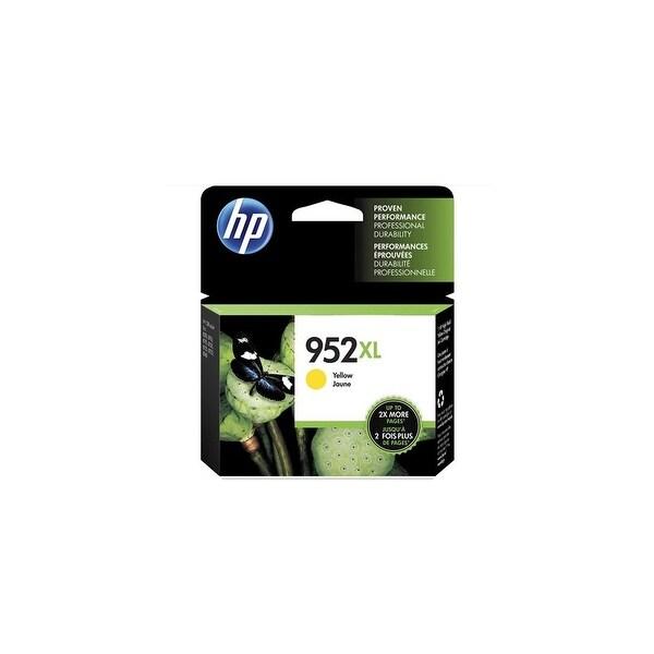 HP 952XL Yellow Original Ink Cartridges (L0S67AN)(Single Pack)