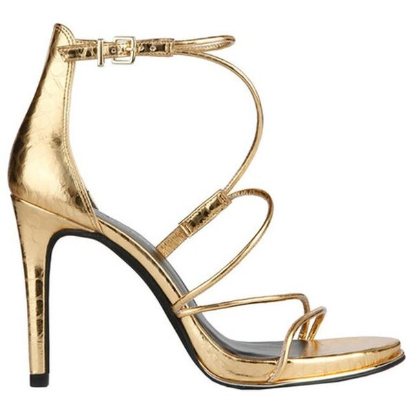 481eb7a4bab4 Shop Kenneth Cole New York Women s Bryanna Strappy Sandal Gold Leather - On  Sale - Free Shipping Today - Overstock - 20084803