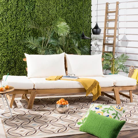 SAFAVIEH Tandra Natural/Beige Modern Contemporary Daybed