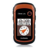 Garmin eTrex20x Handheld GPS w/ Preloaded Maps & Weatherproof- 010-01508-00