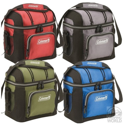 Coleman 3000001250b Soft 9 Can Cooler With Hard Liner