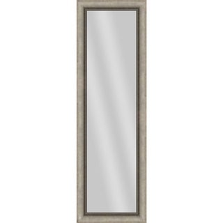 PTM Images 5-13690 53 Inch x 17 Inch Rectangular Unbeveled Framed Wall Mirror - N/A