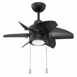 """Craftmade PPL24 Propel 24"""" 6 Blade Indoor / Outdoor Ceiling Fan - Blades and LED Light Kit Included"""