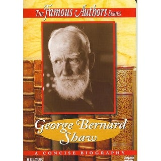 Famous Authors Series, The - George Bernard Shaw - DVD