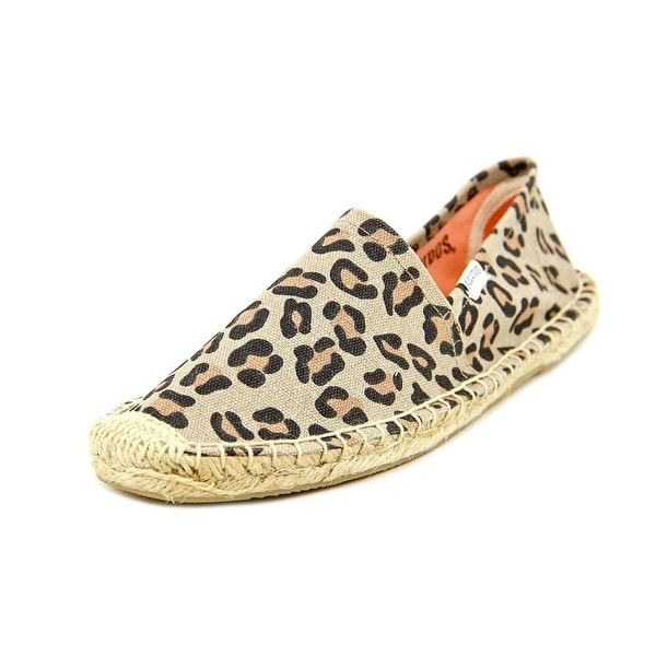 Soludos Original Espadrille Womens Animal Flats