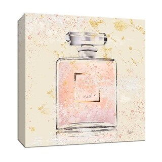 """PTM Images 9-147169  PTM Canvas Collection 12"""" x 12"""" - """"Parfum de Paris"""" Giclee Perfumes Art Print on Canvas"""