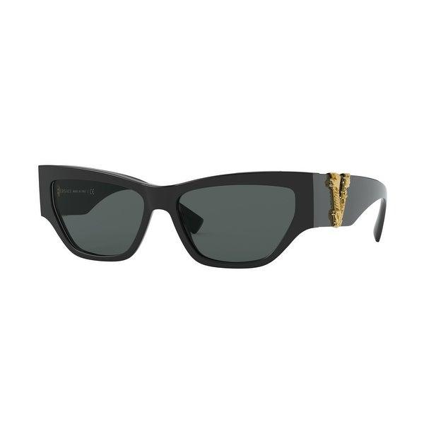 Versase VE4383 GB1/87 56 Black Woman Cat Eye Sunglasses. Opens flyout.