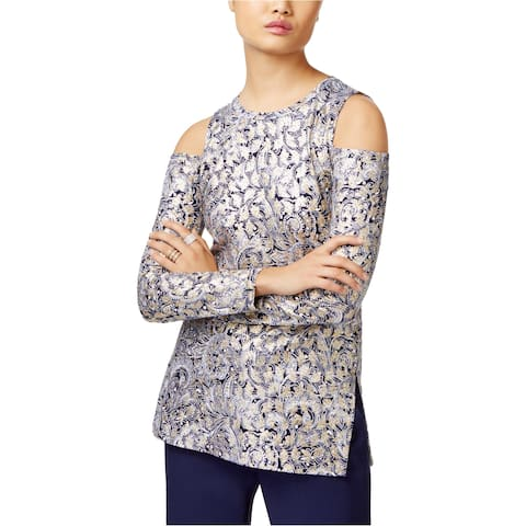 Michael Kors Womens Cold Shoulder Basic T-Shirt