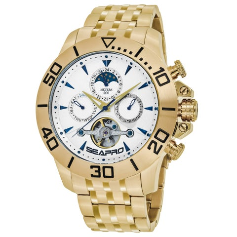 Seapro Men's Montecillo SP5134 Silver Dial Watch