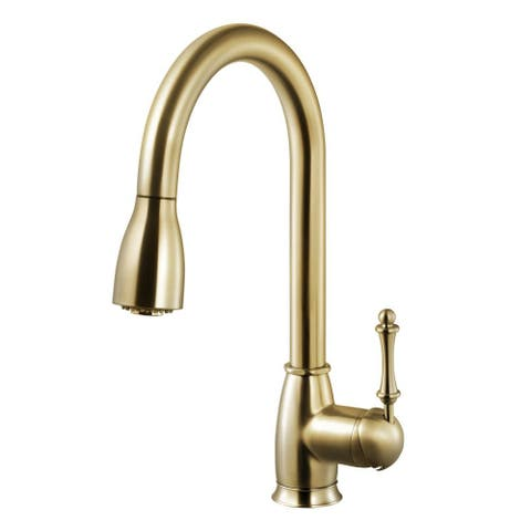 Houzer CAMPD-368 Camden Pull-Down Kitchen Faucet with CeraDox L