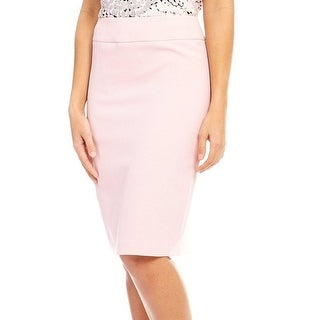 Kasper NEW Pink Women's Size 6P Petite Seamed Straight Pencil Skirt