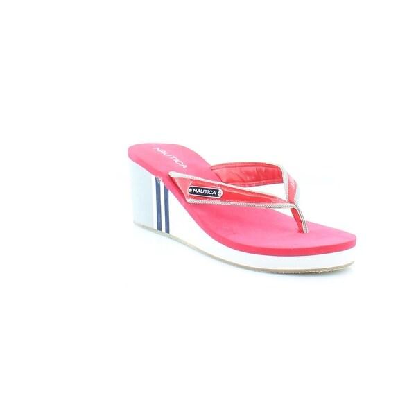 Nautica Luff Women's Sandals & Flip Flops Ski Patrol Rerd - 9