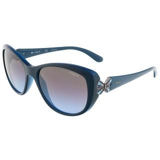 Vogue VO2944S 228548 Aqua Green/Opal Bluette Butterfly sunglasses