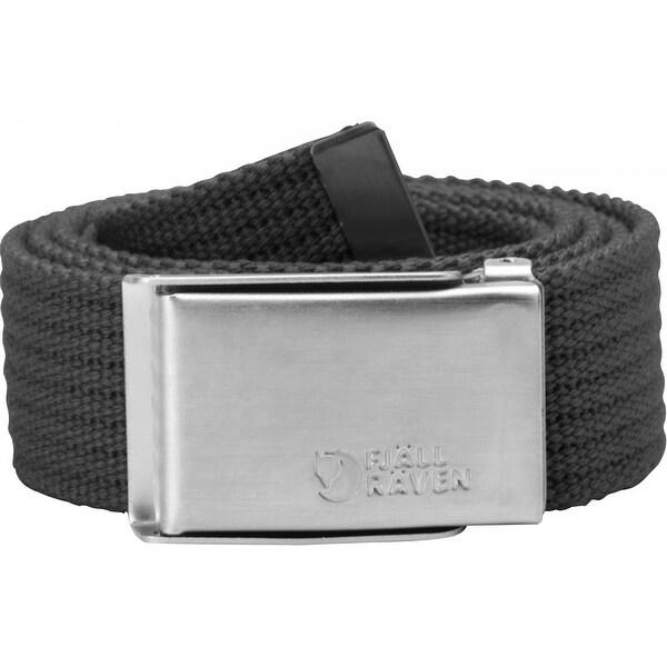FjallRaven Merano Canvas Belt - DARK GREY - One size