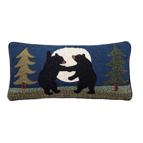 Donna Sharp Bear Dance Rectangle Decorative Pillow