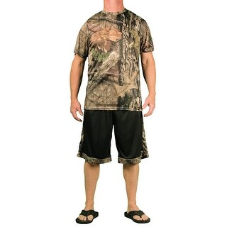 Mossy Oak Men's Performance 2 Pc Short/T-Shirt Set