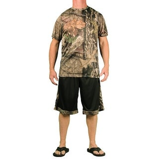 Mossy Oak Men's Performance 2 Pc Short/T-Shirt Set