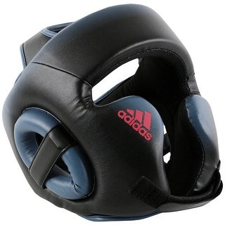 Adidas Women's Speed Training Boxing Headgear - Black/Tech Ink/Shock Red