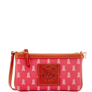Dooney & Bourke MLB Angels 2016 All Star Wristlet (Introduced by Dooney & Bourke at $78 in Jun 2016) - Red