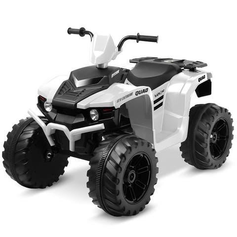 Kidzone 4 Colors 12V Electric Kids Ride-On Car ATV - standard
