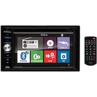"Boss 6.2"" DDin Receiver Touchscreen Bluetooth DVD/CD USB/SD Front Aux"