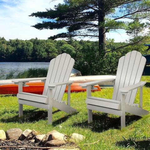 Polystyrene Adirondack Chair