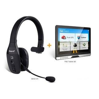 BlueParrott B450-XT with Rand Mcnally TND Tablet 80 Bundle Bluetooth Headset + Tablet