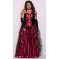 Plus Size Bloody Beautiful Vampire Queen Costume, Plus Size Vampire Costume
