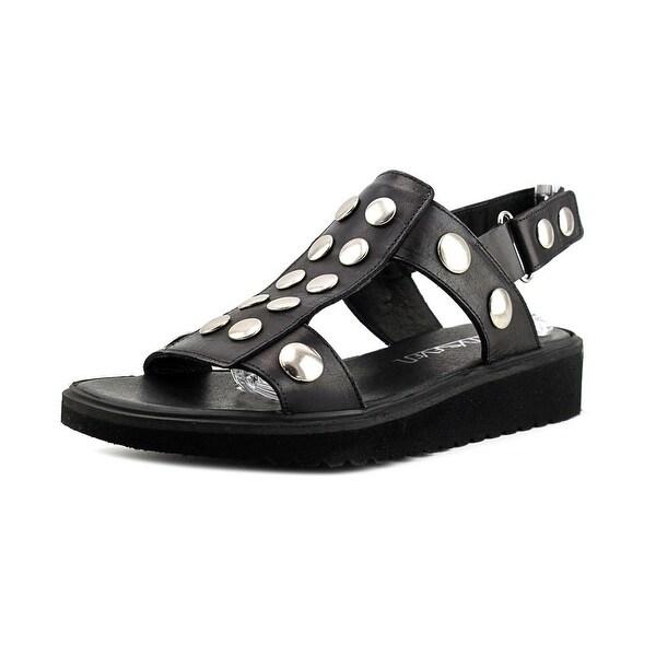 Sixtyseven 75346 Women Vachetta Black Sandals