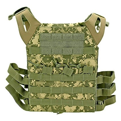 Junior Padded Tactical Vest - Digital Camo thumbnail