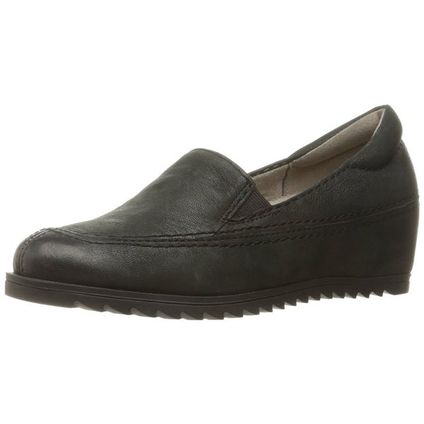 Naturalizer Womens Harker Leather Round Toe Loafers - 6.5