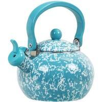 Reston Lloyd 36872 Harvest Whistling Teaketle, Turquoise Marble